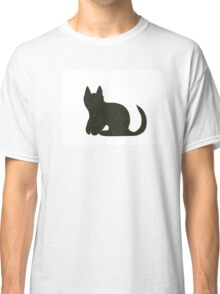 Black Cat - how lucky's that! Classic T-Shirt