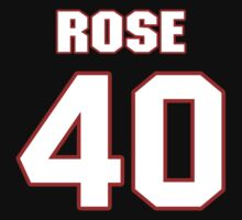 NFL Player Lowell Rose forty 40 by imsport