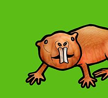 Naked Mole Rat by Bewilderlings