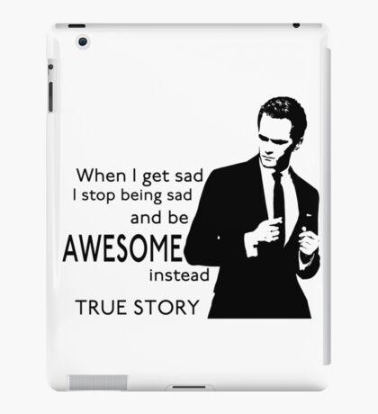 himym Barney Stinson Suit Up Awesome iPad Case/Skin