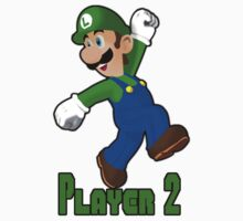 Luigi Player Two One Piece - Long Sleeve