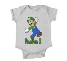 Luigi Player Two One Piece - Short Sleeve