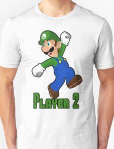 Luigi Player Two T-Shirt