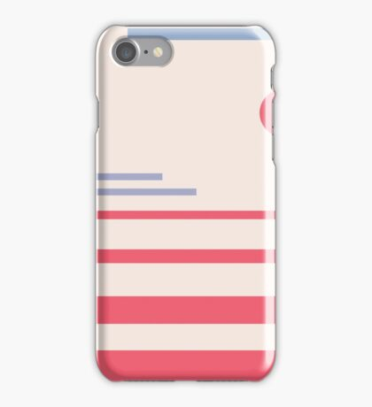 Abstract minimalistic landscape iPhone Case/Skin