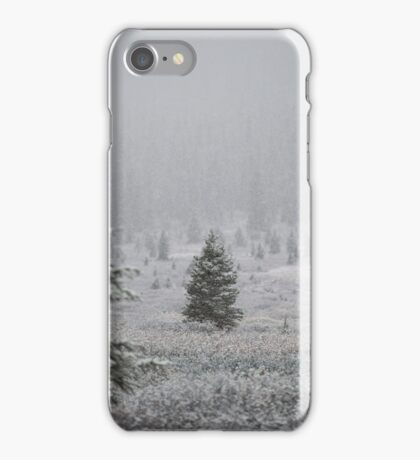 Banff National Park - Snow Forrest iPhone Case/Skin