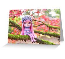 Climbing trees Greeting Card