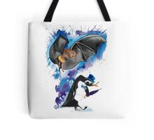 Batman and Penguin Tote Bag