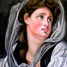 study woman after Jean-Baptiste Greuze by Hidemi Tada