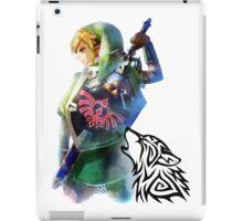 Zelda Link with Wolf iPad Case/Skin