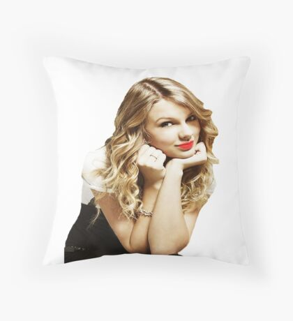 taylor swift Throw Pillow