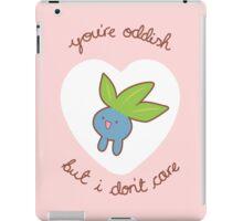 Oddish Valentine V2 iPad Case/Skin