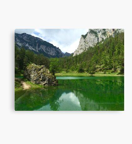 Green Lake 3 Canvas Print