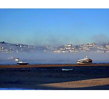 Mist over Water Photographic Print