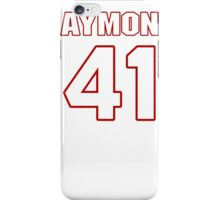 NFL Player Mistral Raymond fortyone 41 iPhone Case/Skin