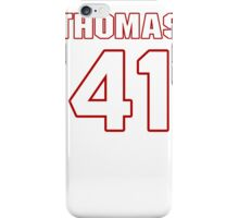 NFL Player Phillip Thomas fortyone 41 iPhone Case/Skin
