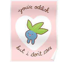 Oddish Valentine V2 Poster