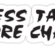 Rock Climbing Less Talk More Chalk Sticker