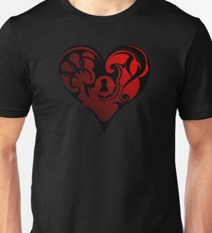 LockHeart Unisex T-Shirt