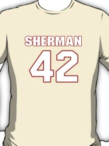 NFL Player Anthony Sherman fortytwo 42 T-Shirt