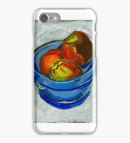 Still Life with Peaches iPhone Case/Skin