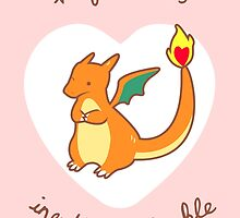 Charizard Valentine V2 by Steph Hodges