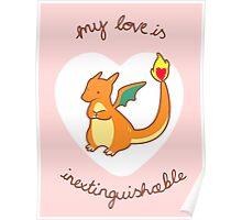 Charizard Valentine V2 Poster