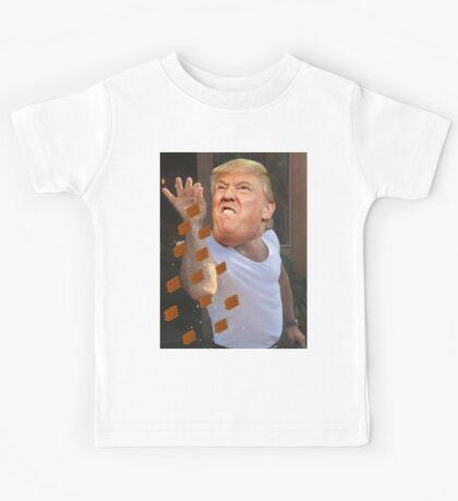 Donald Trump as Salt Bae Kids Tee
