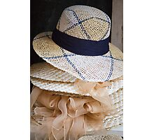 hat in the shop Photographic Print