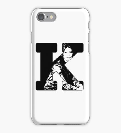 K is for Kaylee iPhone Case/Skin