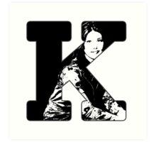 K is for Kaylee Art Print