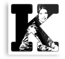 K is for Kaylee Metal Print