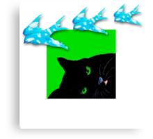 Dreamy Cat Canvas Print