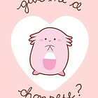 Chansey Valentine by Steph Hodges
