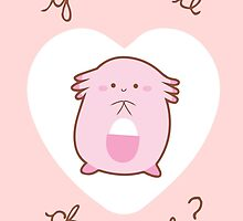 Chansey Valentine V2 by Steph Hodges