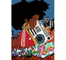 Old School Afro Photographic Print