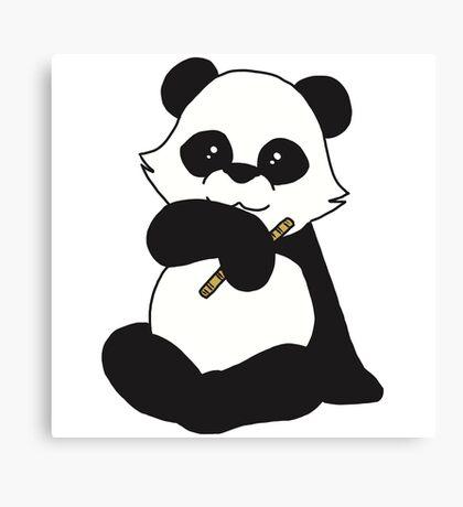 The Cute Baby Panda Canvas Print