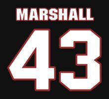 NFL Player Cameron Marshall fortythree 43 by imsport