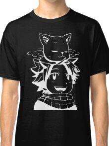 natsu & happy- Fairy Tail Classic T-Shirt