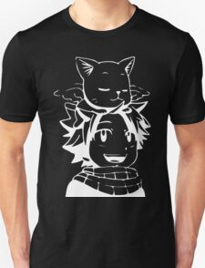 natsu & happy- Fairy Tail T-Shirt