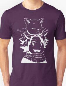 natsu & happy- Fairy Tail Unisex T-Shirt