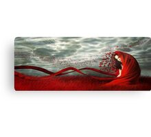 Red Wind Canvas Print