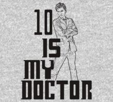 ten is my doctor Kids Clothes