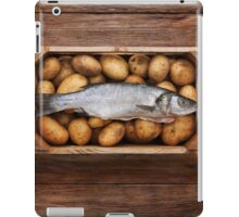 Raw Fish & Chips iPad Case/Skin