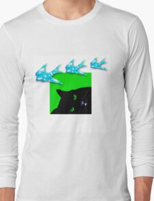 Dreamy Cat Long Sleeve T-Shirt
