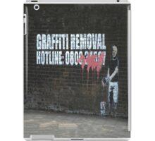 Graffiti Removal Hotline iPad Case/Skin