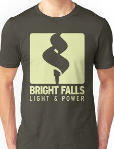 Bright Falls Light & Power (Alt.) Unisex T-Shirt
