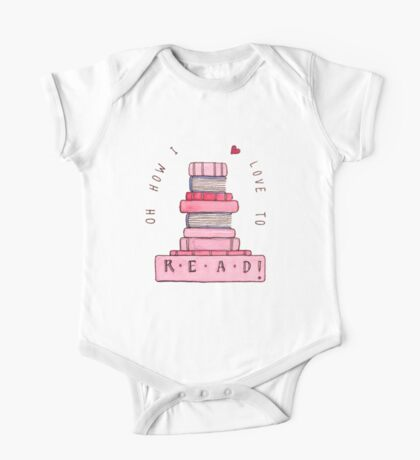Love of Reading One Piece - Short Sleeve