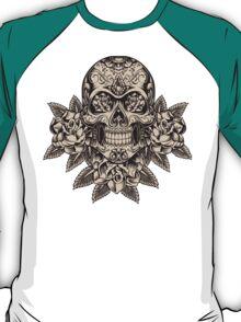 Flowering Sugar; Skulling Series T-Shirt