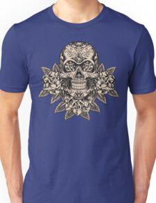 Flowering Sugar; Skulling Series Unisex T-Shirt