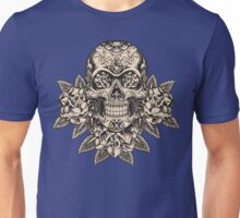 Flowering Sugar; Skulling Series Unisex T-Shirt